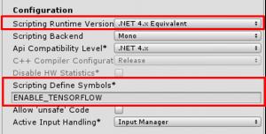 ML-Agents Setting2 Configuration